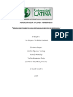 Tecnicas e Instrumentos Para Proporcionar Servicios de Enfermeria