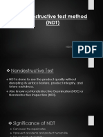 Nondestructive Test Method