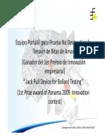 Rueda Prueba Bitas CTG