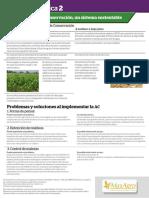 La Agricultura de Conservación, un sistema sustentable