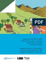 AGUALIMPIA Manual OyM Agua Potable rural final.pdf