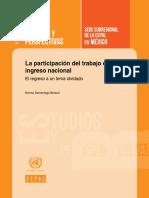 CEPAL - La Participaciu00F3n Del Trabajo en El Ingreso Nacional El Regreso a Un Tema Olvidado Norma Samaniego Breach