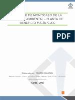 Informe de Monitoreo de La Calidad Ambiental y Ocupacional de La Planta de Beneficio Malin S