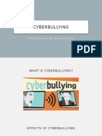 Cyber Bullying English Oral