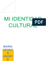 Mi Identidad Cultural