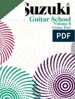 Suzuki Guitar Vol 8