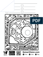 Plant Cell Print
