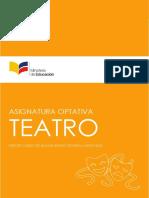 CURRICULO Asignatura Optativa Teatro ECA 3BGU