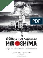 A Ultima Mensagem de Hiroshima - Takashi Morita