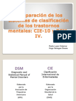 Comparacion de Sistemas Diagnostico