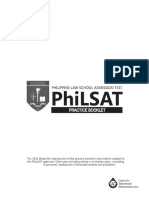 PhiLSAT Practice Booklet