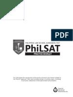 PhiLSAT Practice Booklet