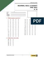 (BSM016) Lembar Jawab Pre Test