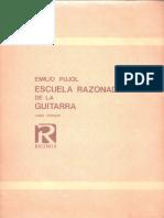 Escuela Razonada de La Guitarra ( Versión en Español) E. Pujol - Vol 1