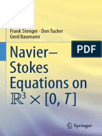 Frank Stenger, Don Tucker, Gerd Baumann auth.  Navier–Stokes Equations on R3 × [0, T]