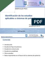 Identificación de los estudios aplicables a sistemas de potencia.pdf