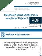Flujo de Potencia. Gauss-Seidel v2