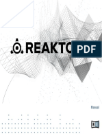 REAKTOR Factory Library Manual English 2015 11