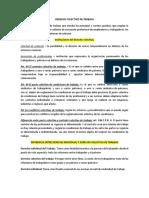 DERECHO COLECTIVO DE TRABAJO GUATEMALA