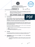 Local Budget Circular No. 109 - GUIDELINES ON THE RELEASE AND UTILIZATION OF THE FY 2016 LOCAL GOVERNMENT SUPPORT FUND (LGSF)-FINANCIAL ASSISTANCE TO LOCAL GOVERNMENT UNITS (LGUs).pdf