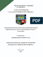 FERTILIZACION DE MAIZ
