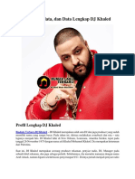 Profil, Biodata, Dan Data Lengkap DJ Khaled