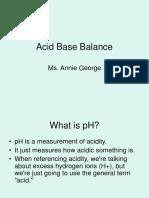 Annie - Acid Base Balance.ppt