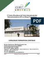 Catalogue Formation Continue Esmt 2014