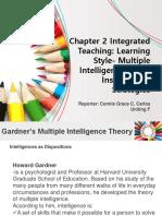 Teaching Strategies Report on MI