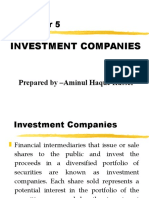 Chapter - Investment companies