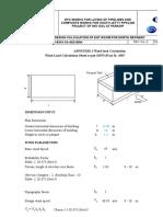 APPENDIX-I Wind Load Calculation1