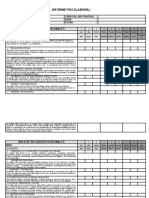 Informe Personalidad 16 Pf 102 Items Marquina