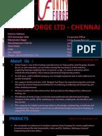 Unity Forge Ltd Chennai