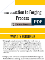 Introduction to Forging Process