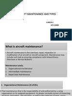Aircraft Maintenance and Types