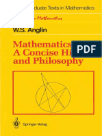 Mathematics a Concise History and Philosophy Anglin 160317130249