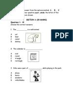 ujian formatif 2 bahasa inggeris tahun 3