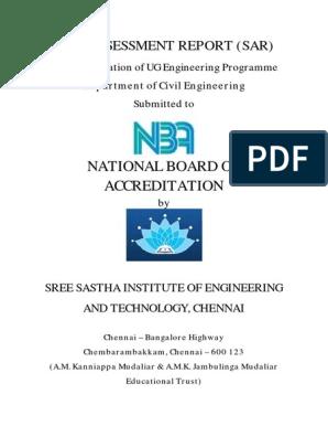 FINAL SAR REPORT SAATHA CIVIL (3) pdf   Diploma   Curriculum