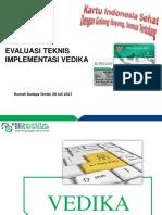 Evaluasi Teknik Vedika Pptx