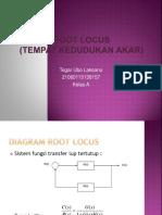 Root Locus Tegar Ubo Laksono_21060113130157
