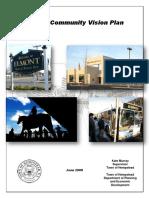 Belmont RFP Appendix B, Elmont Vision Plan, 2008