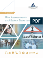 PDF Guide to Risk Assessments and Safety Statements HSA Ireland