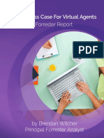 The Business Case for Virtual Agents a Forrester Report