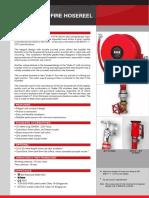 1. Swing Type Manual Fire Hosereel