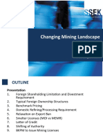 Changing Mining Landscape in Indonesia (SSEK)
