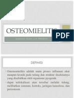 Dokumen.tips Ppt Osteomielitis 560711ac493b9