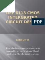 Dee 6113 Cmos Intergrated Circuit Design