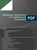 Ingrijirea Pacientului Cu Tuberculoza Pulmonara