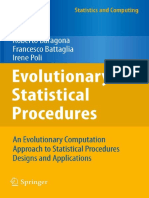 Roberto Baragona, Francesco Battaglia, Irene Poli Auth. Evolutionary Statistical Procedures an Evolutionary Computation Approach to Statistical Procedures Designs and Applications