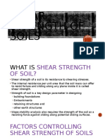 Shear Strength of Soils